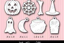 MFT Die-namic - Halloween Charms