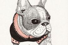 dog illust