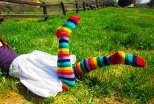 Socks For Baby & Me!(: