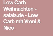 Weihnachten Low Carb