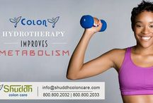 Shuddh  Colon Hydrotherapy / Colon hydrotherapy is a safe and gentle internal bath which allows warm filtered water into the colon through a small device called a Speculum.