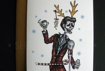 Holiday Cards 2014 by Serpenthes / Line 117