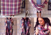 Como usar lenços