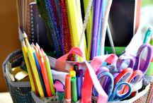 Organizing Art Supplies / Pins to help you organize your art supplies!