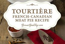 Tourtiere meat pie.