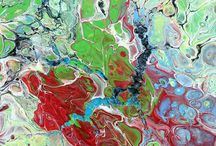 Webshop - abstract paintings - Michael Lønfeldt