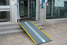 Portable Ramps / Lightweight portable ramps that make the difference.