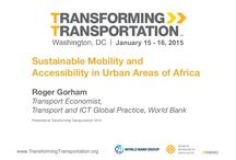 Urban Transport and Innovation Research
