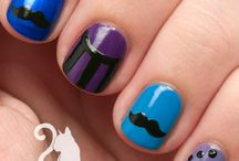 Nail art / Here is some inspiration to make nails  Maybe you Will even try som of the?