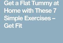 Flat bellies