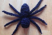 szydełkowe pająki, pajęczyny