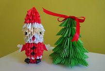 Mikulás origami
