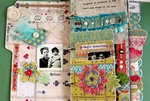Altered books and Art Journals