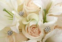 White Roses and Lilies Wedding