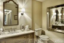 bathrooms / by Sheri Bailey