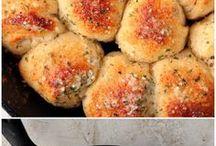 Fancy Bread baked in a skilled