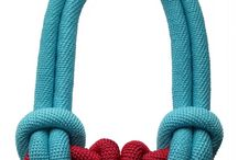Knot cloth jewelry