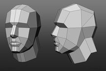 Character Topology: lowpoly
