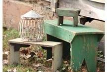 Ye Olde Bench Stool