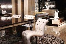 AR DECO / Коллекция дизайнерских ковров в стиле AR DECO отражает роскошь и особый шик в интерьере, выполнена на контрасте темных и светлых оттенков из дорогих изысканных материалов.