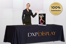 "Dxpdisplay / You are viewing a special offer for 33"" x 78"" retractable display stand. This banner stand features a retractable mechanism and durable aluminum structure. It is perfect for trade shows, local fairs, store promotions, exhibitions, conferences, seminars and presentations."