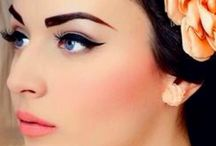 1950's makeup for our photoshoot