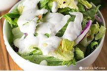 Salad Dressings, butter and seasonings