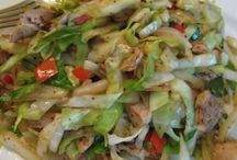 cabbage stirfry