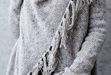 Pashmina. Woolen Poncho Style..