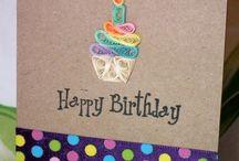 Geburtstags-Karten
