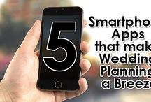 5 Smartphone Apps that Make Wedding Planning a Breeze / There are five highly-rated wedding planning apps that can make your life easier – and we highly recommend them.  http://www.kimberleyandkev.com/5-smartphone-apps-make-wedding-planning-breeze/