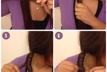 How to do :- hair styles