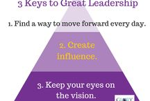 Be a Leader / Leadership for all levels.