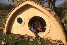 Hobbit Hole Doghouse / by Wooden Wonders Hobbit Holes