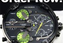 Diesel klokker / Veldig bra, gjør jobben sin og mere til Sinker ikke ett sekund. Stillegående urverk. Anbefales på Det sterkeste vis du behøver ei klokke.