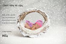 Nieuwjaarsbrieven / Nieuwjaarsbriefjes voor baby's en peuters