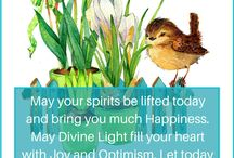 Blessings for You! / A board full of blessings, love and light, and beautiful, positive energy to brighten your day!