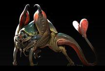 Creature(monster) Design / Creature monster 크리쳐 몬스터