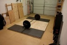 Crossfit home gym