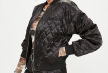 Barbie x Missguided Black Quilted Ring Pull Reversible Satin Bomber Jacket / AUD $108.95