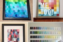 DIY: Paint chip projects