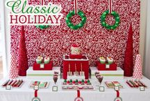 Classic Christmas Party Inspiration