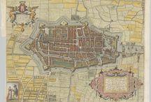 Maps / kaarten van Alkmaar / Diverse kaarten en plattegronden van Alkmaar.