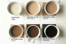 Pantone palettes