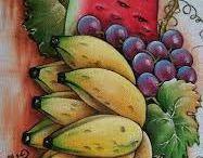 pinturas de frutad