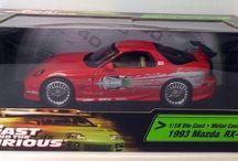 Fast & Furious Model Cars