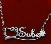 name necklaces / You surely can find a perfect custom necklace here.
