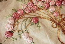 Silk Ribbon Embroidery / by Elaine Sinclair
