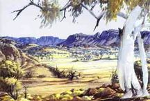 Albert Namatjira / Aboriginal Australian Artist (1902-1959)