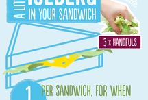 How much salad is in a bag? / Our NEW packaging shows exactly how much you need as a healthy portion - we recommend a good handful!